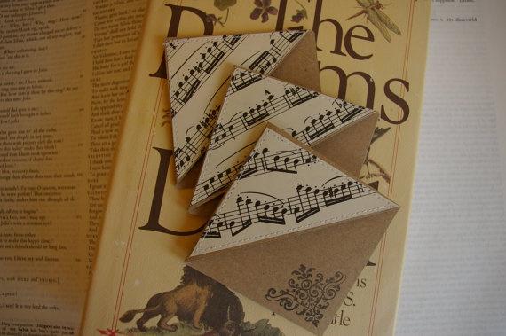Handmade Bookmark Corners by MarthaLae on Etsy,