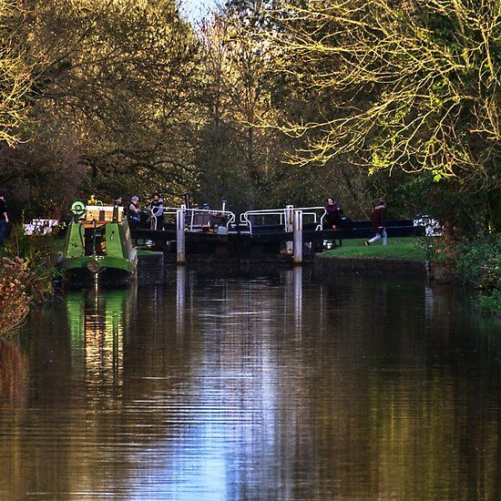 Activity At Heale's Lock