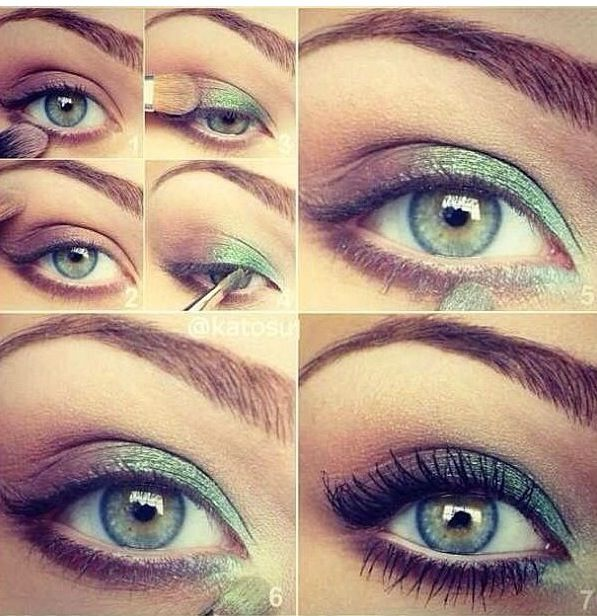 Perfect for more understated, pretty St. Patrick's Day makeup!
