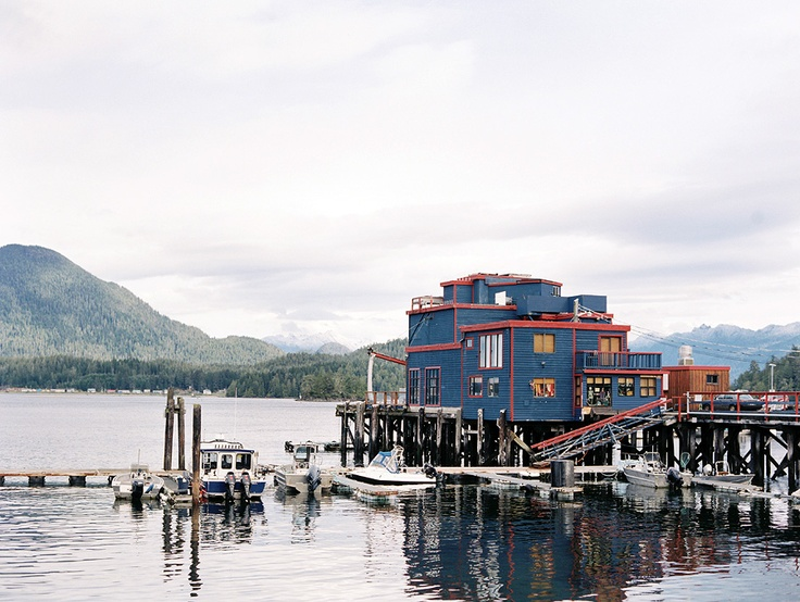 Tofino, Vancouver Island, Canada. Christian Ward. Contax 645, Fuji 400H