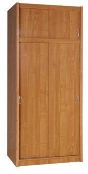 Skříň GENTOFTE 2 dveře olše 96x220x62