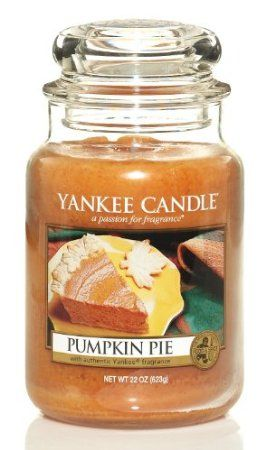 Amazon.com: Yankee Candle Pumpkin Pie Large Jar Candle: Home & Kitchen