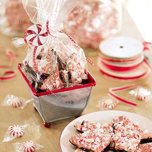 Chocolate-Peppermint Bark | MyRecipes.com