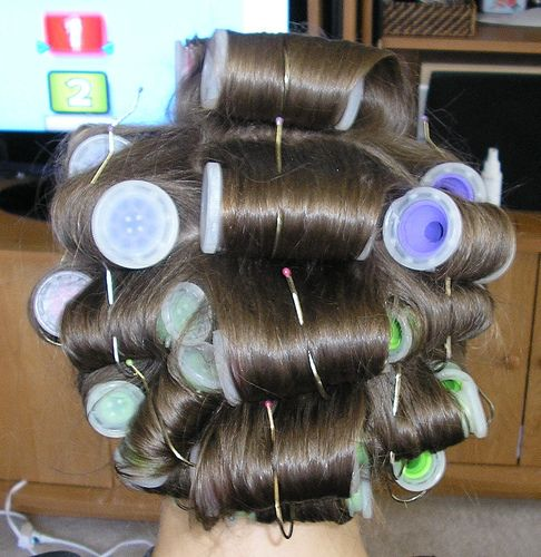 hot roller set - the absolute best way to get big volume sexy hair.
