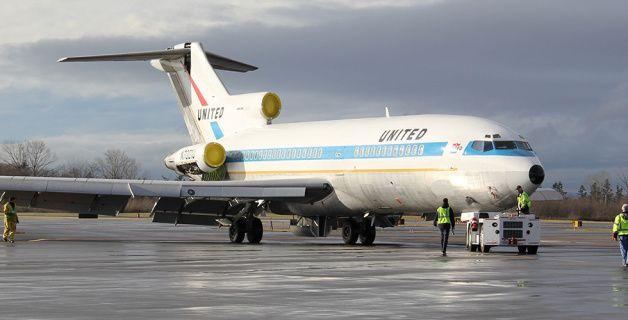 ユナイテッド・カラー「フレンドシップ・リバリー」の727-022「N7001U」のラストフライト -ユナイテッド航空 機体デザイン