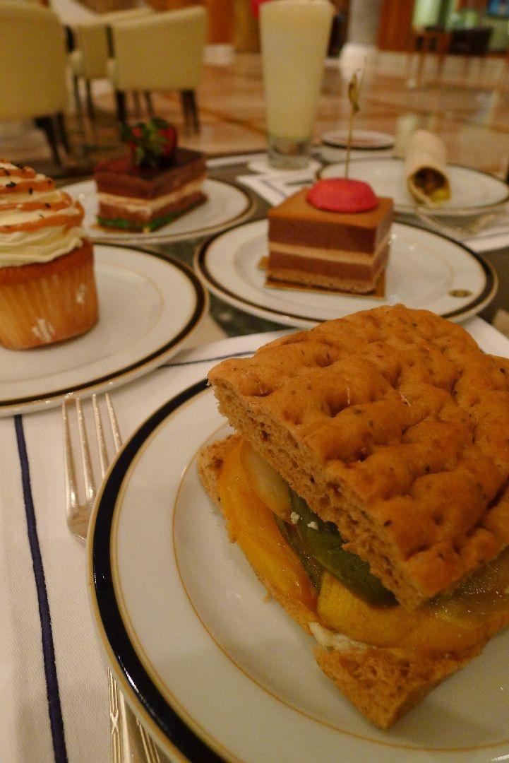 Wrap, Sandwich and cakes  Zest - Empire Hotel, Brunei