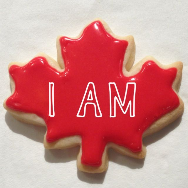 Biscuits fête du Canada / Canada Day cookies #CanadaDay