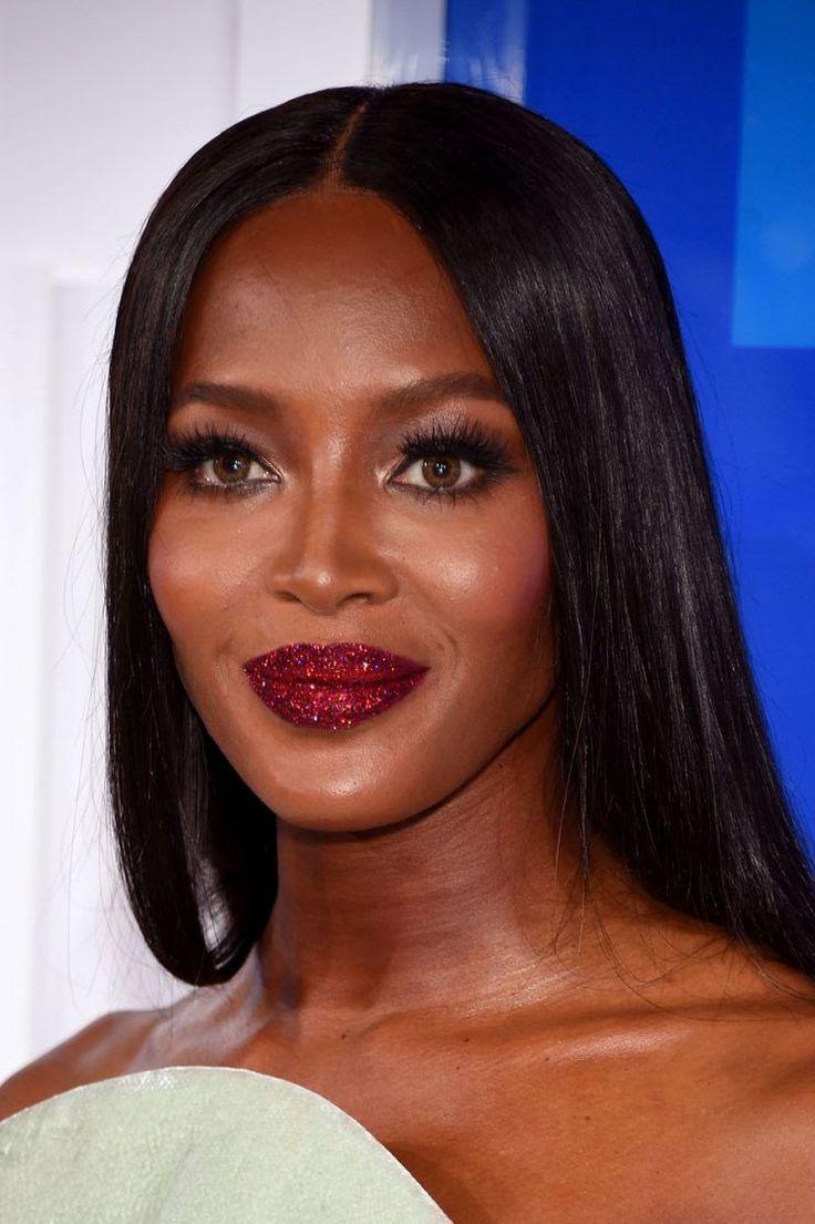 Naomi Campbell Rocks Glitter Lips at the MTV VMAs With Pat McGrath's Lust 004