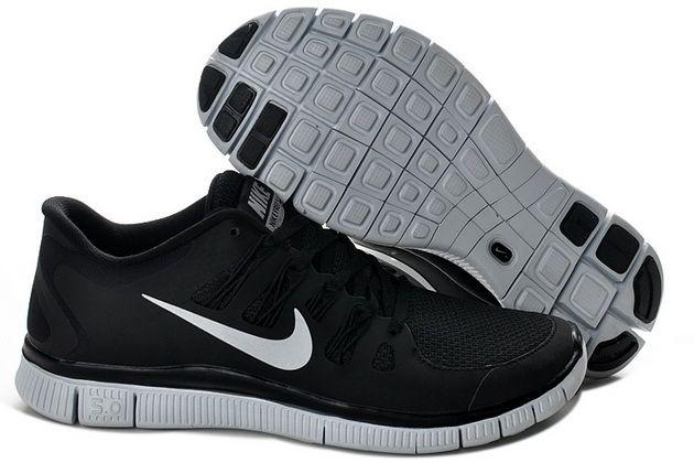 2013 Nike Free 5.0 V2 Black Silver Unisex good for my job