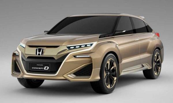 2017 Honda Crosstour Redesign