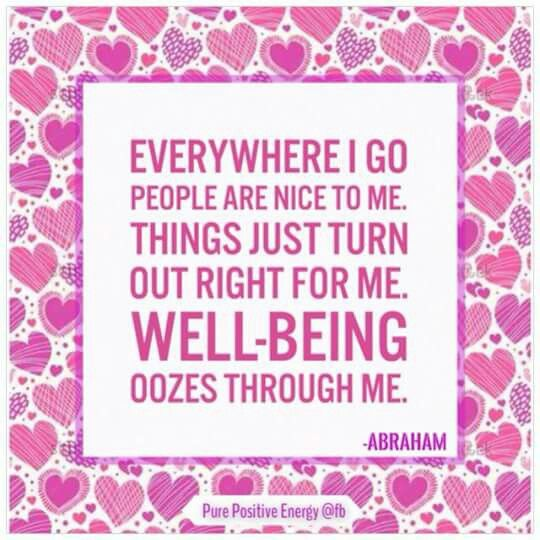 Abraham hicks; this is usually my experience :-)