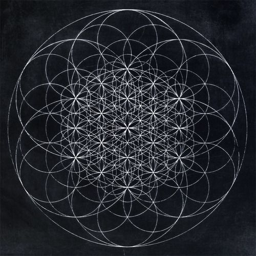 Geo Flower Stencils : Flower of life torus aura sacred geometry