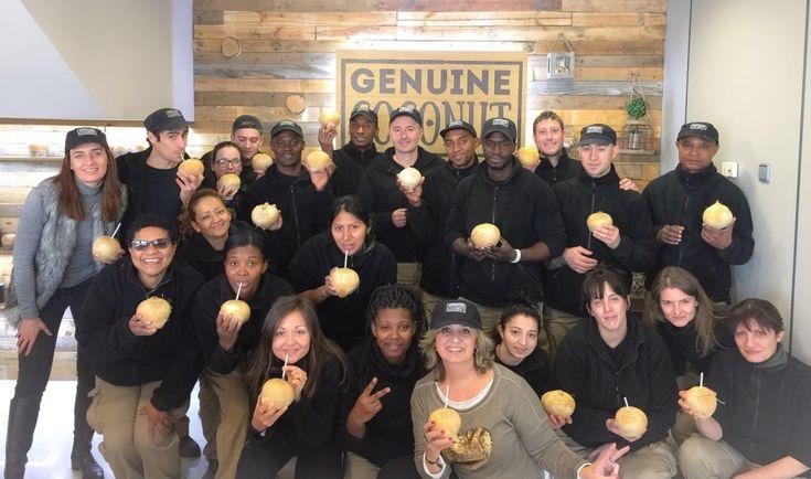 Equipo Gennuine Coconut Innovation Award 2016 fruit Logistica