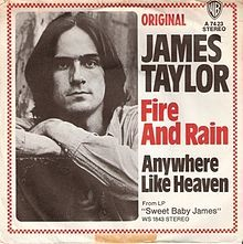 """Fire and Rain"" - James Taylor = The story behind the song. Things I never knew about him....."
