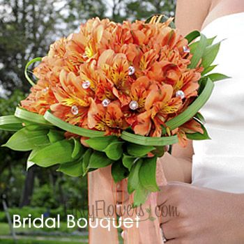 FiftyFlowers.com - Alluring Peruvian Lily Wedding Flowers Box - 10 Package