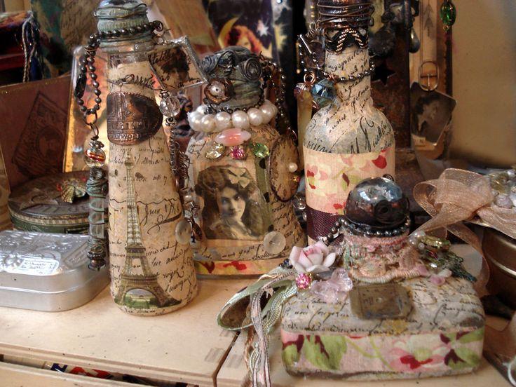 Steam Punk Bottles