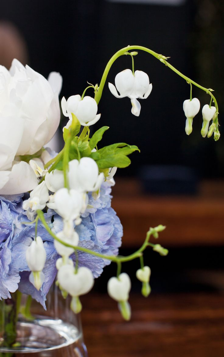 #Bridal #flowers in #blue & #white