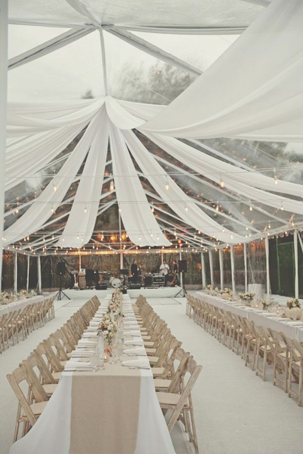 453 best grand reception images on pinterest weddings brides of adelaide magazine outdoor wedding draping reception love love the draping and rectangular tables junglespirit Image collections