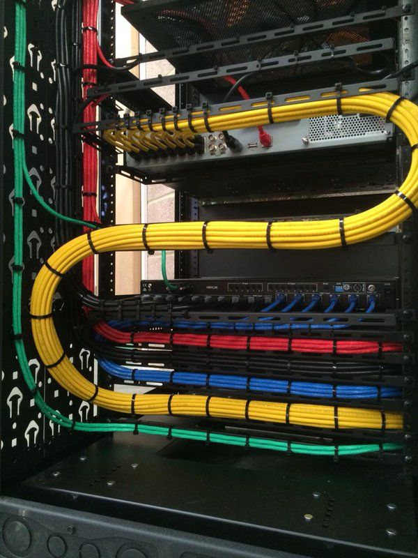 326 best cable management images on Pinterest | Cable management ...