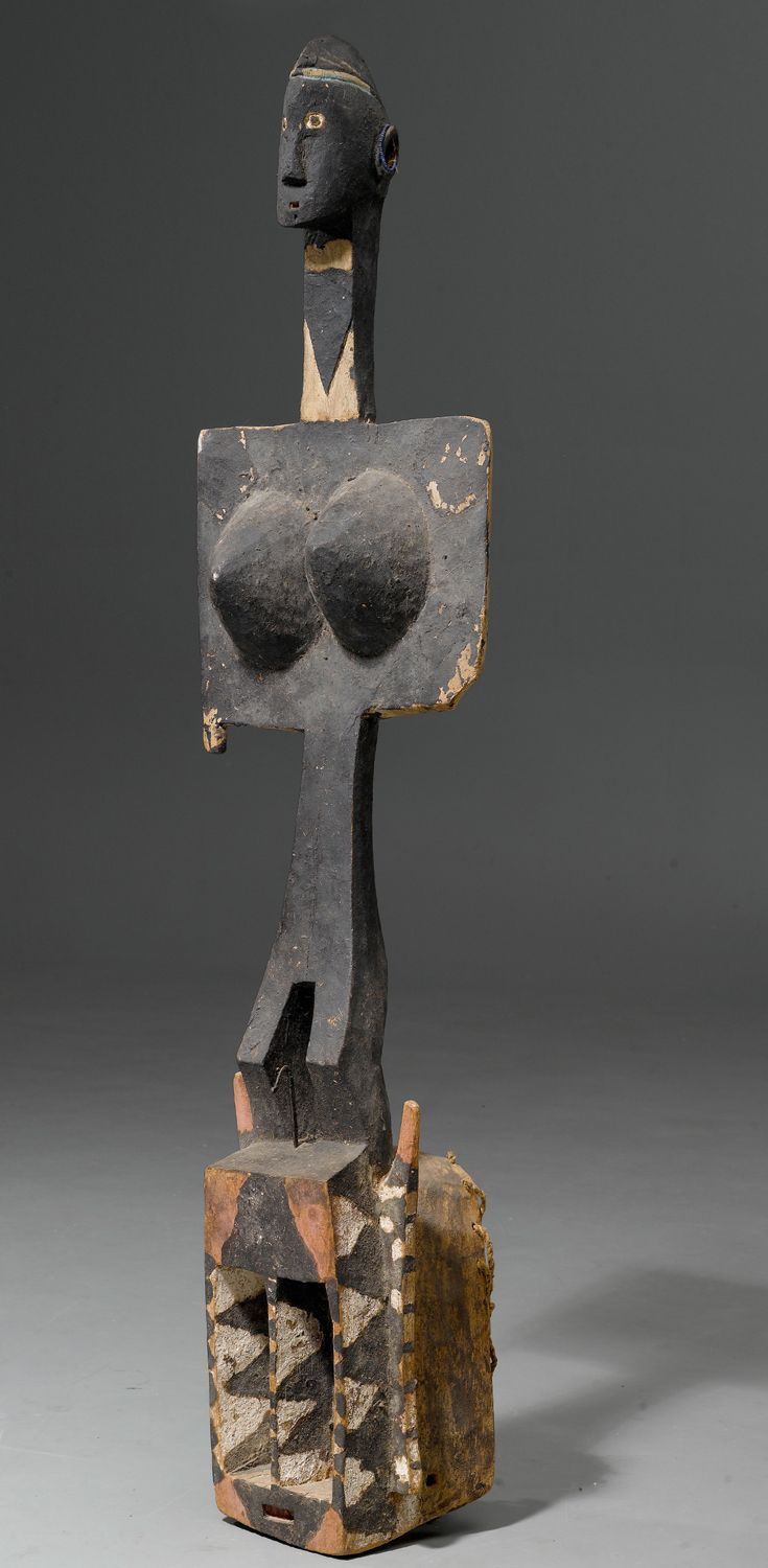 Mali. Mask from the Dogon people   Wood and pigment