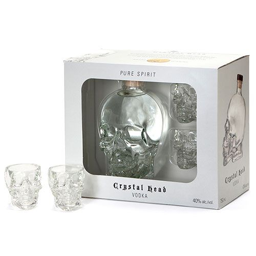 Crystal Head Vodka • Gift Set 4 / Case