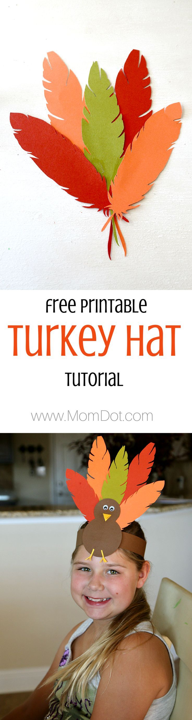 Create a Thanksgiving Hat with this easy DIY Crafts tutorial, fun for kids