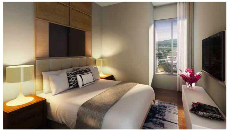 Apartemen Saffron Sentul City 2BR Interior Design