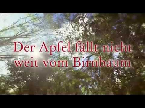 Buchtrailer Der Apfel fällt nicht weit vom Birnbaum
