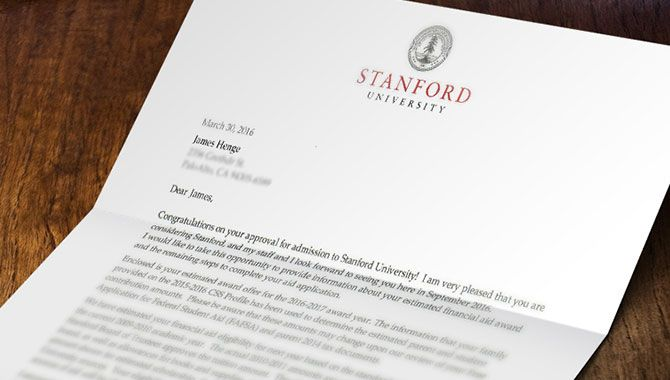 Alright so here's the story: As many of my long time readers already know, I like to keep my family life pretty private and out of my blog. But this is something that I just had to share: My son got into all the Ivy Leagues he applied for! He ended up choosing Stanford. I'm extremely proud of him and he deserves it. The purpose