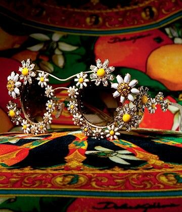 Dolce & Gabbana Sunglasses Woman Daisies Collection Spring-Summer 2016