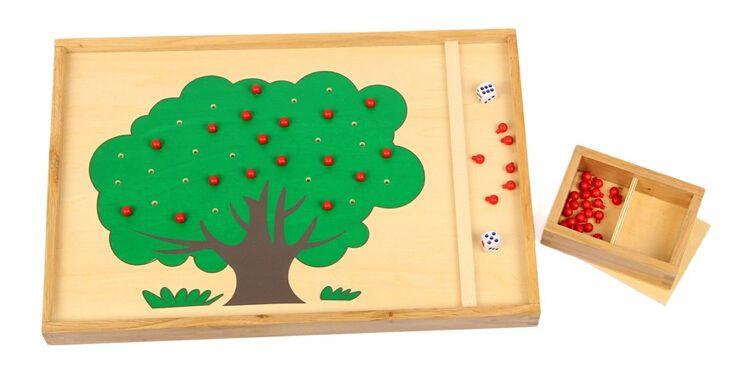 Купить товарДетские развивающие игрушки монтессори игрушки яблоню подсчета обучения большой подарок для детей деревянные в категории  на AliExpress.             Описание:                  1.   Материал: дерево  2.   Состояние: 100% новый                   Ф