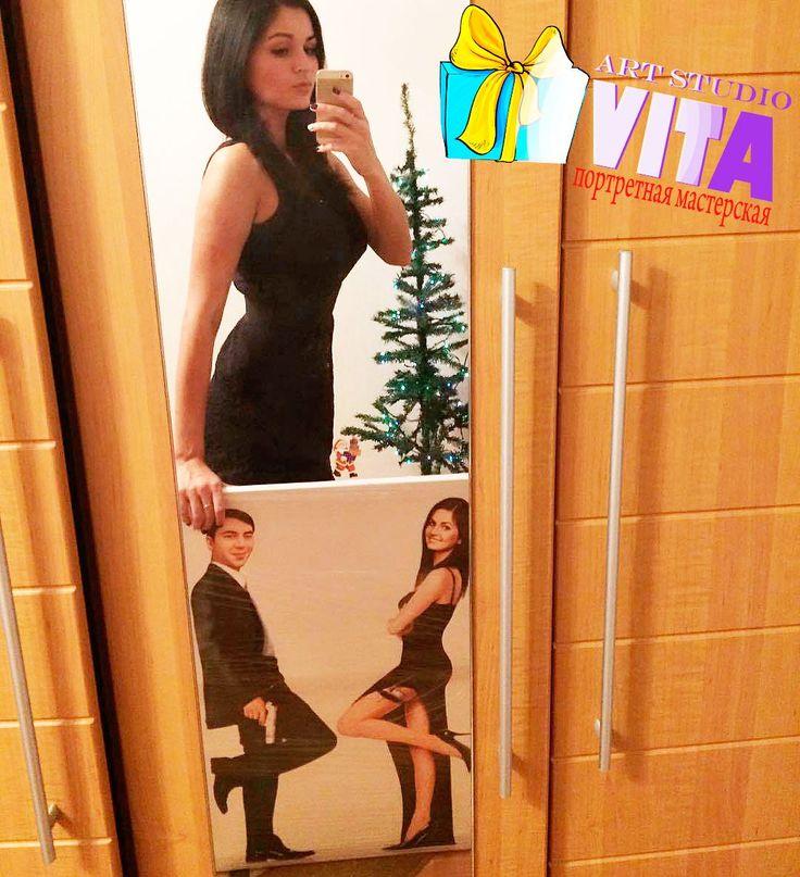 Миссис с портретом Мистера и Миссис   Цифровой портрет по фото Наш сайт http://gallerr.ru Заказать http://gallerr.ru/fzakaza2 По вопросам пишите в личку Если нравится работа, сделай репост, пусть другие тоже увидят.👍