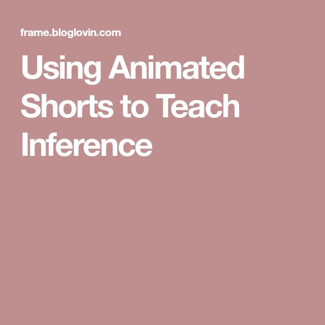 The 98 best english grammar and writing images on pinterest school using animated shorts to teach inference fandeluxe Images