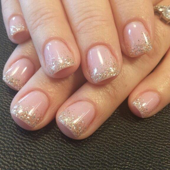 Light Elegance/hard gel nails Instagram: styleandgracesalon Facebook: Gel Nails by Nichole