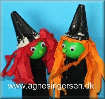 Vi har lavet disse heksehånddukker <3 Vi blev ikke færdige til Sankt Hans, eller vi er måske bare i rigtig rigtig god tid :) Heksehåndukkerne er et meget godt eksempel på jeg ikke altid ved hvad vores projekter ender med at blive :) Klik ind på bloggen og se nærmere på vores hekse :) og husk at give mig noget credit når du bruger mine ideer <3 Her er heksehånddukkerne: http://agnesingersen.dk/blog/heksehaanddukker/ Easy kids crafts witch - hexe