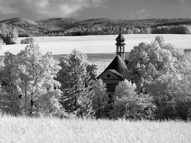 Broumovsko - Kostel sv. Barbory, Otovice