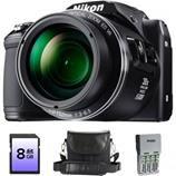 Oferta Aparat foto digital Nikon COOLPIX L840, 16MP, Black + card 8GB + Geanta + incarcator 4xR6. | OFERTE PRODUSE