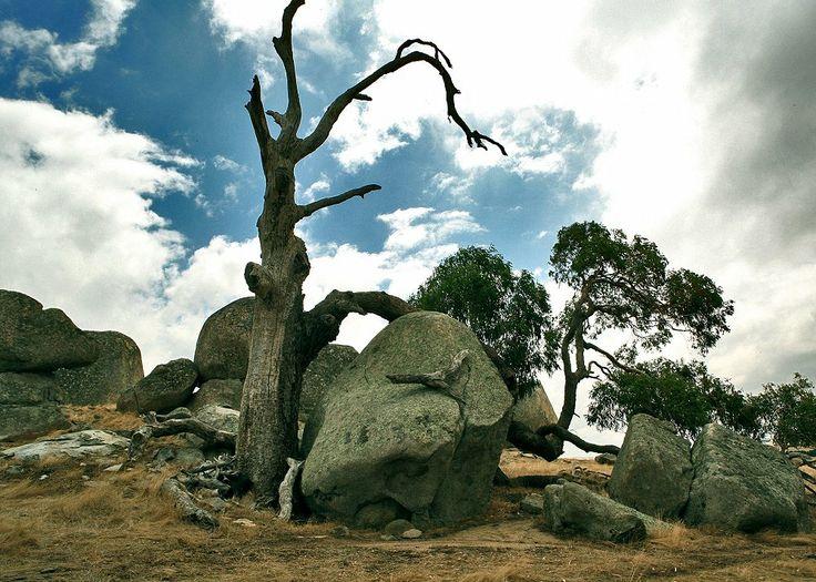 Rocks around the region