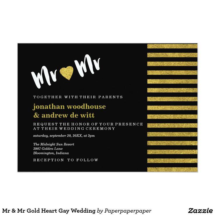 463 best MODERN WEDDING Invitations images on Pinterest ...