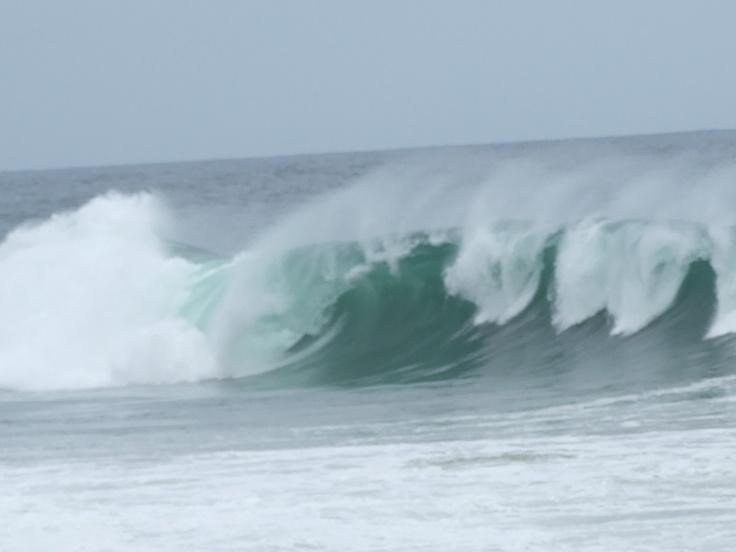 Thunder surf off Balito Bay, South Africa