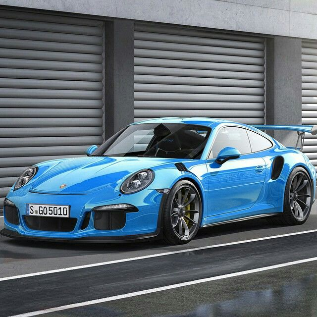 Porsche 911 GT3 RS Riviera Blue
