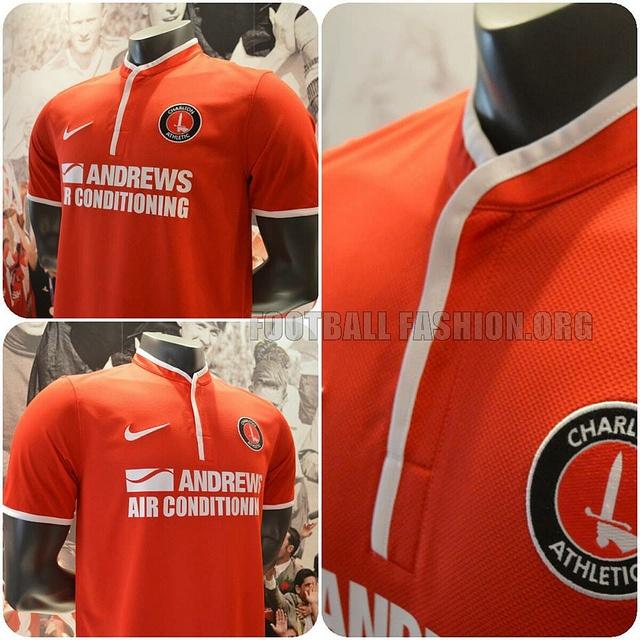 Charlton Athletic 2013/14 Nike Home Kit