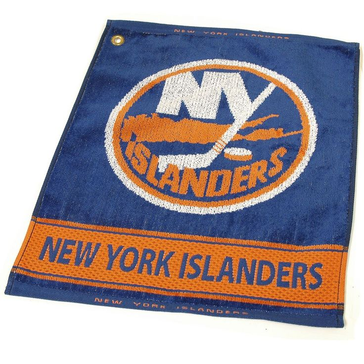 Team Golf New York Islanders Woven Towel, Multicolor