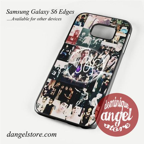 5 sos photo collage Phone Case for Samsung Galaxy S3/S4/S5/S6/S6 Edge