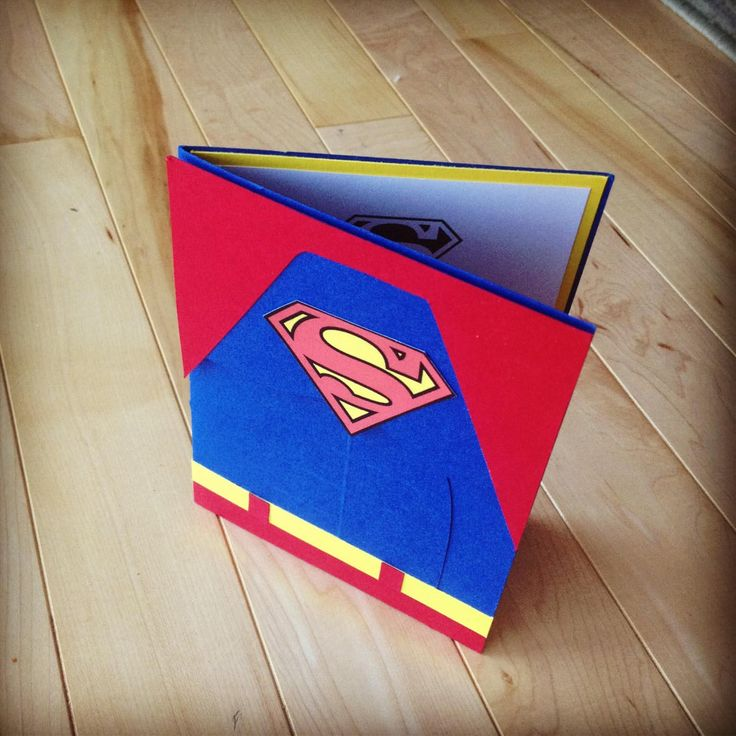 Superman Character for Birthday Party