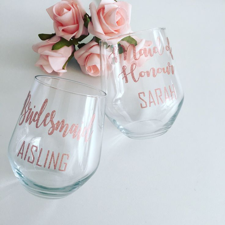 A personal favourite from my Etsy shop https://www.etsy.com/uk/listing/516176882/personalised-wine-glass-stemless-wine