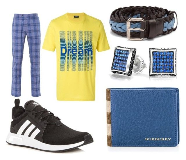 """ANGER IS A GIFT by Mark Oshiro"" by heidi-heilig on Polyvore featuring adidas, Diesel, Burberry, Prada, Bling Jewelry and Paisley & Gray"
