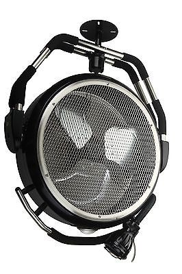 OceanAire High Velocity Garage Fan with Task Light http://www.mancavegenius.org/