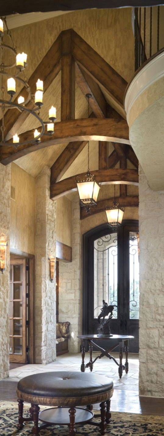 Best 25 mediterranean homes plans ideas on pinterest for Tuscan style homes interior
