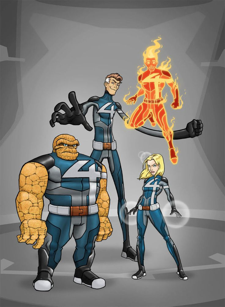 Fantastic Four Redesign by ~Mickey377 on deviantART